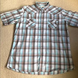 SONOMA men's casual short-sleeve shirt - XL Tall